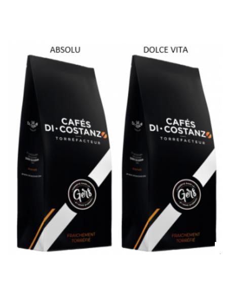 Box Découverte Cafés Blend 2 kg - café moulu